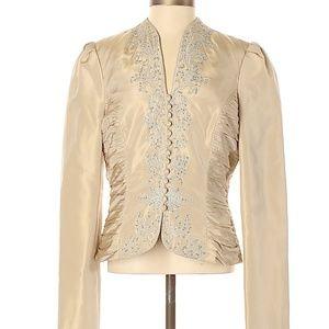 Badgley Mischka Silk Blazer